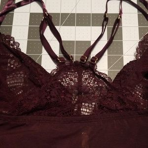 Cacique Intimates & Sleepwear - Lace unlined no wire bralette by cacique